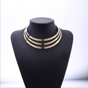Multi Layer Fashion jewelry choker necklace